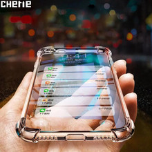 Cherie Transparent Shockproof Case For LG G6 G7 Plus Q6 Q9 Cover Clear Soft TPU Case For LG V30 V40 V20 K8 K10 2017 2018 Coque(China)