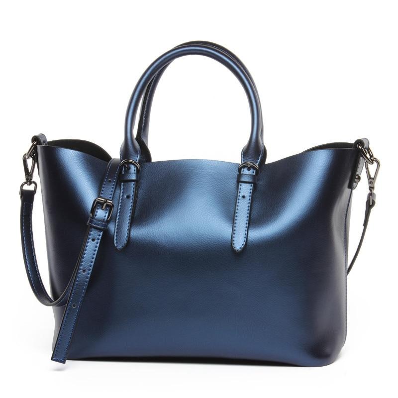 luxurious Genuine Leather women bag Brand Designer shoulder messenger bags Ladies leather handbags Crossbody Bags female totes