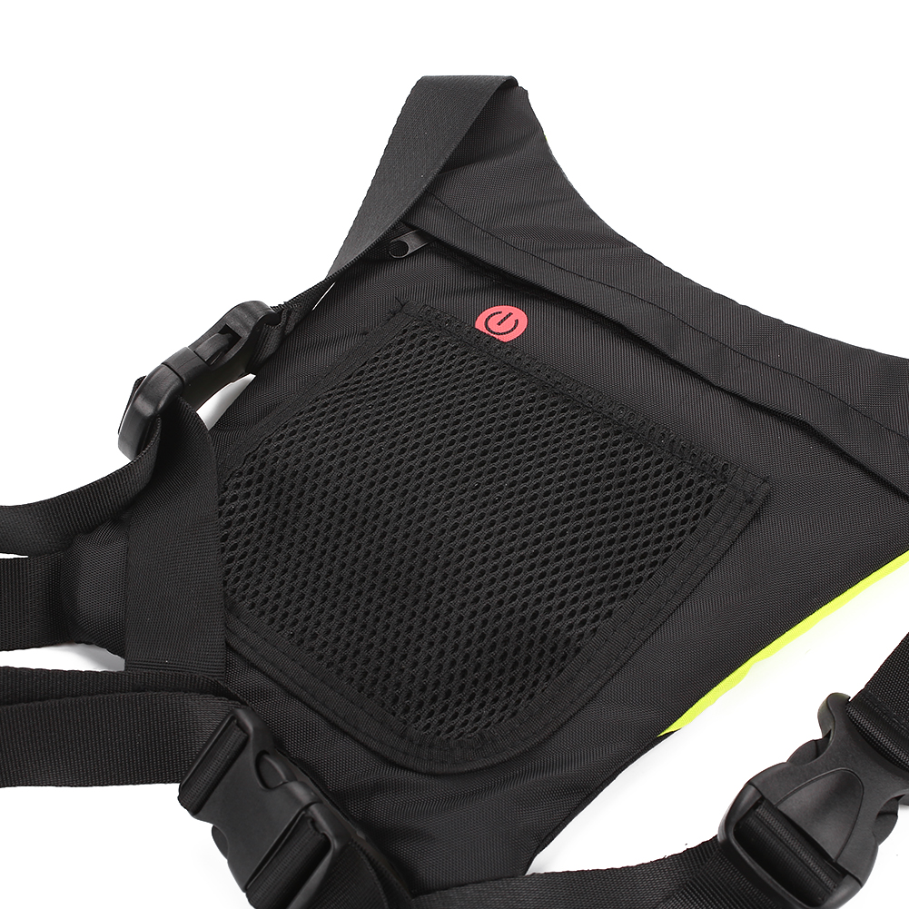 Efficient Usb Charging Led Light Warning Vest Backpack Mtb Bike Bag Safety Led Signal Vests Warning Accessories Cycling Back To Search Resultssports & Entertainment