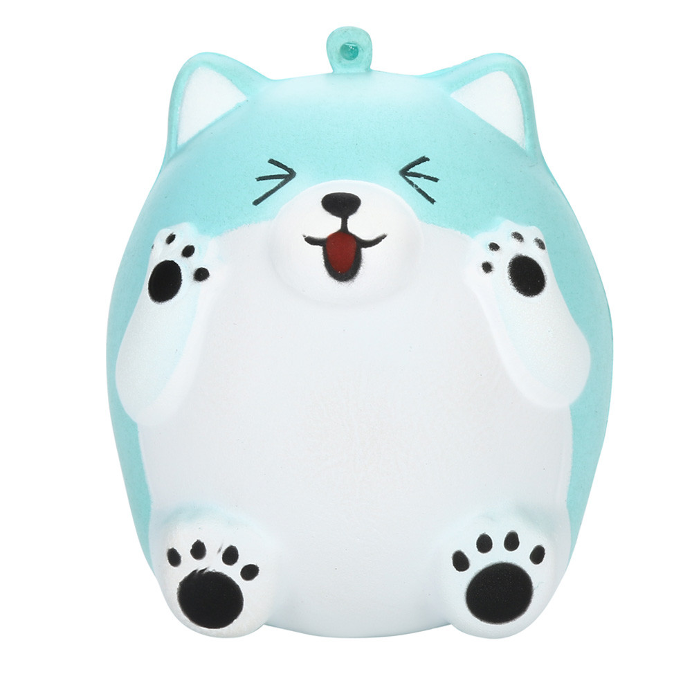 Kawaii Squishy Squishy Cute Smile Bear Toys Slow Rising Cream Scented Stress Reliever Toys Squish Antistress Kid Baby Toys 6.5