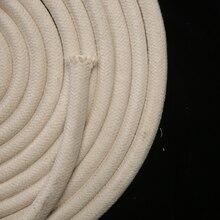 20 мм 10 м натуральная прочная плетеная веревка из хлопка с сердечником DIY ручной работы универсальная хлопковая одежда Шнуры Бесплатная доставка