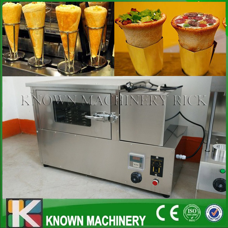 The best selling 304 stainless steel Pizza Cone Oven Maker/Making Machine commercial used easy operation kono pizza cone making machine 2400w umbrella cone pizza 110v 220v stainless steel material