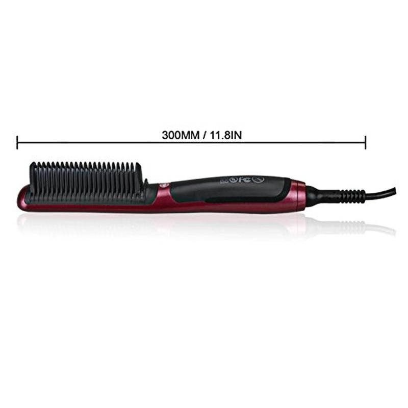 heated beard brush