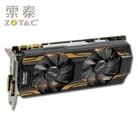 Оригинальные ZOTAC GeForce GTX 760-2GD5 Графика для NVIDIA GTX760 2GD5 HA 2G GT700 видеокарты 256bit HDMI DVI используются GTX-760