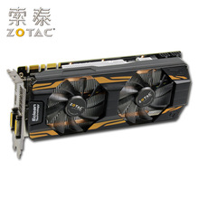 ZOTAC – carte graphique GeForce GTX 760 2GD5 originale pour NVIDIA GTX760-2GD5 HA GTX760, 2 go, GTX-760 bits, HDMI, DVI, d'occasion