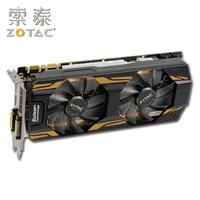 Original ZOTAC GeForce GTX 760 2GD5 Graphics Cards For NVIDIA GTX760 2GD5 HA 2G GT700 Video Card 256bit HDMI DVI Used GTX 760