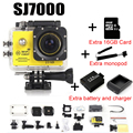 Action Camera  Wifi 2.0 LED 4X Zoom Mini cam recorder go marine diving 1080P HD DV Pro style + monopod + memory card + bag