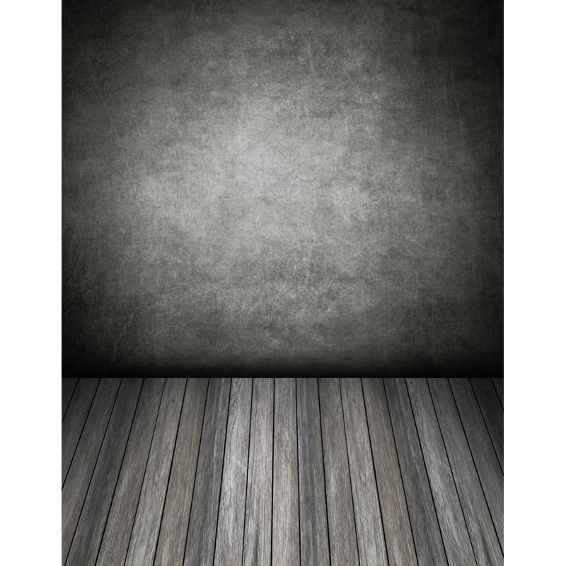 Custom vinyl cloth dark wall wood floor photo studio backgrounds for wedding model photography photographic backdrops S-2570 custom vinyl cloth wood timber wall