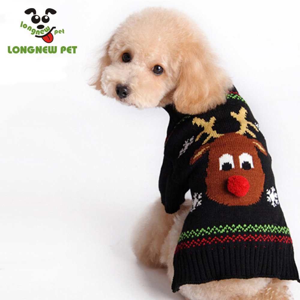 Pet Holiday Halloween Christmas Pet Clothes Dog Sweater for Cats and Dogs
