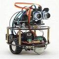 Suíte Aprendizagem Tartaruga Robô Inteligente Carro de Controle Sem Fio inteligente com Base Para Arduino Robô Kit de Montagem de Automóveis