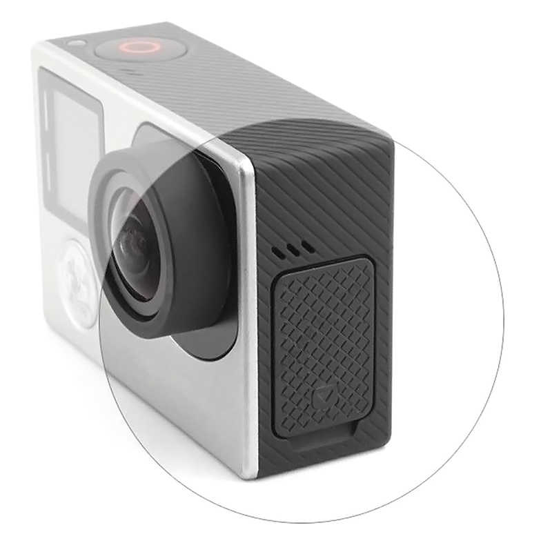 USB Yan Kapı Koruyucu Kapak için Yedek Kamera Aksesuarları Için GoPro Hero 3 Hero 3 + Hero 4