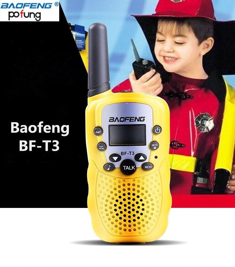 US $16 77 2PCS Baofeng BF-T3 Mini Walkie Talkie Kids - OC2O™