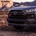 Для Toyota Rav4 Rav 4 Adventure  2019  2020  углеродное волокно  передняя Центральная решетка  гриль  крышка  отделка  внешние аксессуары  автомобильный Стайл...