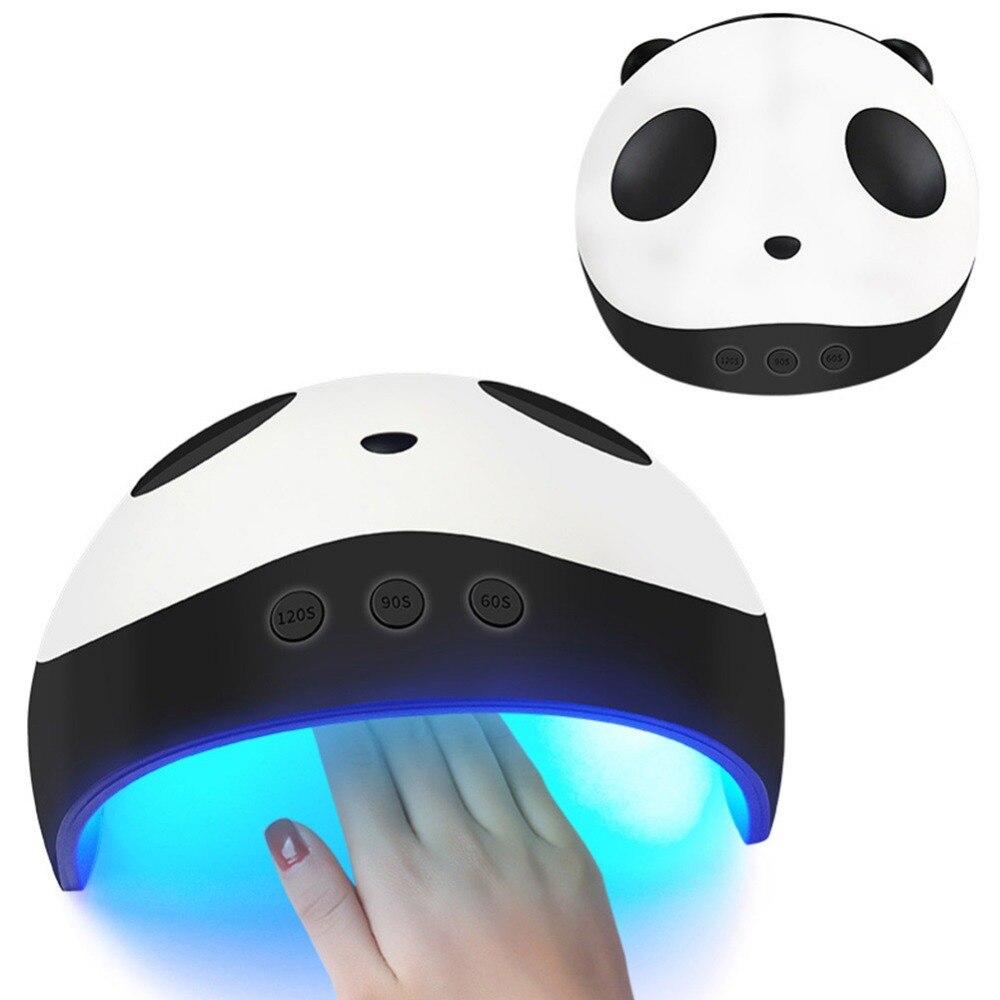 Bescheiden Nette Panda Form Uv Lampe 36 Watt Led Nagel Trockner Maniküre Lampen Für Gel Härtung Polnischen Nail Art Werkzeuge 60 /90/120 S Timer #279383 Schönheit & Gesundheit