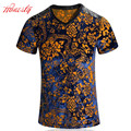 Men Summer T-shirts Brand Korean Plus Size M-5XL Short Sleeve Casual Tees High Quality Cotton Print Breathable Tshirts F2098
