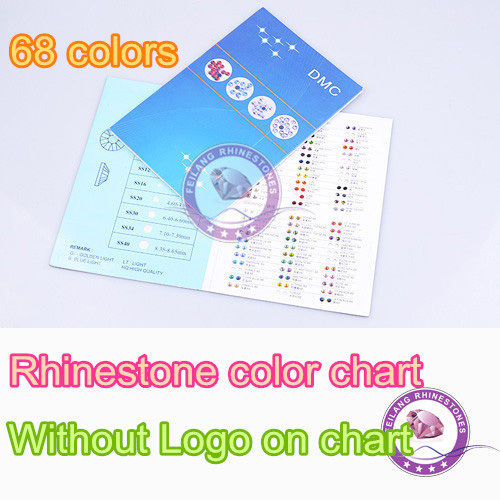 DMC Strass farbkarte farbe buch katalog 68 farben die meisten ...