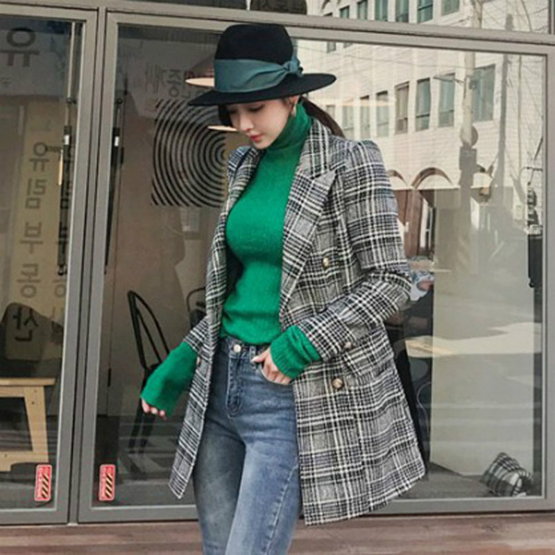 2fa23c3daec0 Élégant De Longues Bouton 2018 À Femmes Dames Outwear Plus Automne Taille  Manches La Lady Noir Manteaux ...