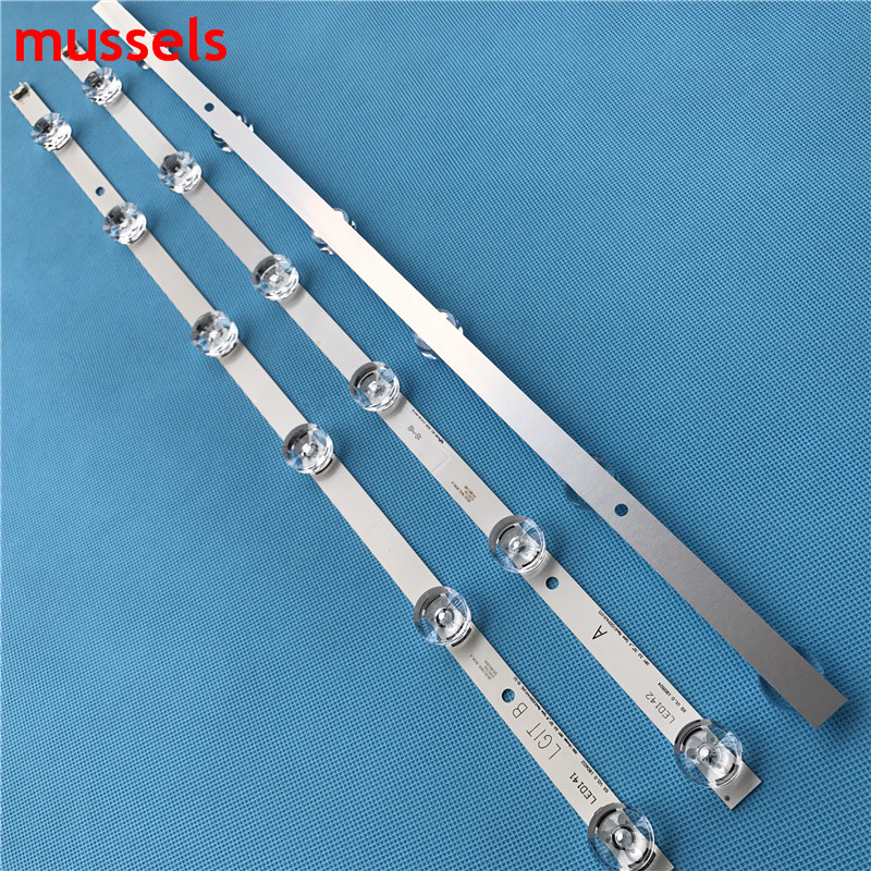 "led רצועת רצועת LED עבור סונג WEI LGE 32"" טלוויזיה חדש B A 6916L-1703B 1704B 32LY340C LC320DXE FG A3 6916L-2406A 2407A 32LF560V 32LB582D 32LB565U (3)"