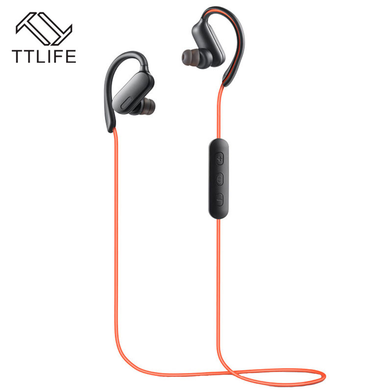 TTLIFE SY11 Bluetooth 4.1 Headset Wireless Sport CVC6.0 AptX Earphone with Mic Sweatproof Earbuds for xiaomi Phone
