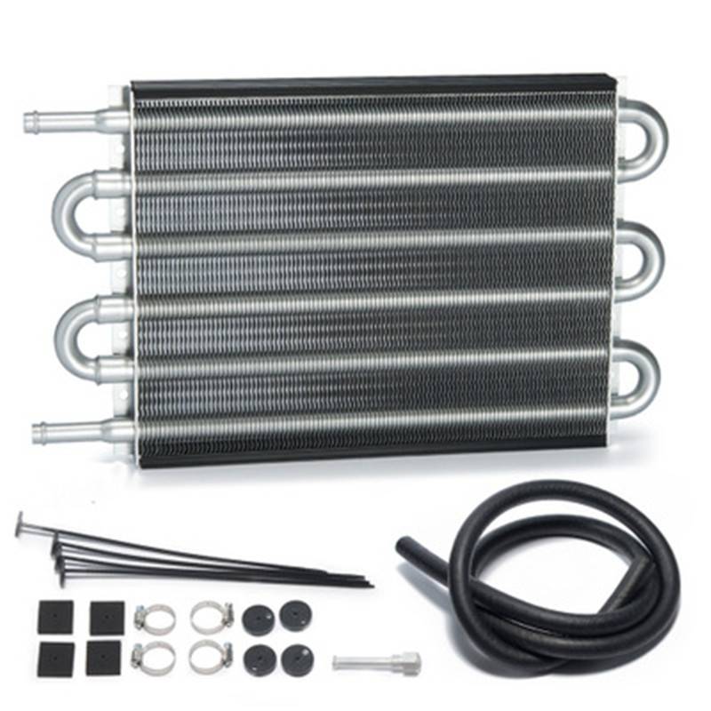 6 row of new automatic wave box oil cooler, automatic wave box radiator, automatic block oil cooler