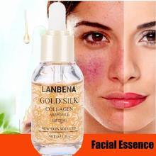 Gold Silk Protein Essence Collagen Anti-aging Moisturizing Facial  Firming Anti Wrinkle moistfull collagen