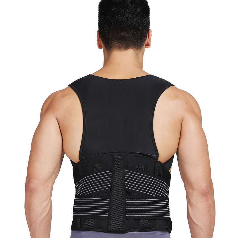 JORZILANO Babaka Corrector Belt Vest Braces Back Support ...