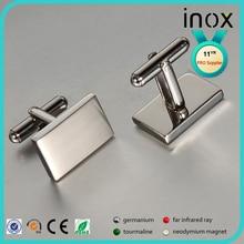 1 pair Cufflinks Stainless Steel Cuff links for men cufflinks стоимость
