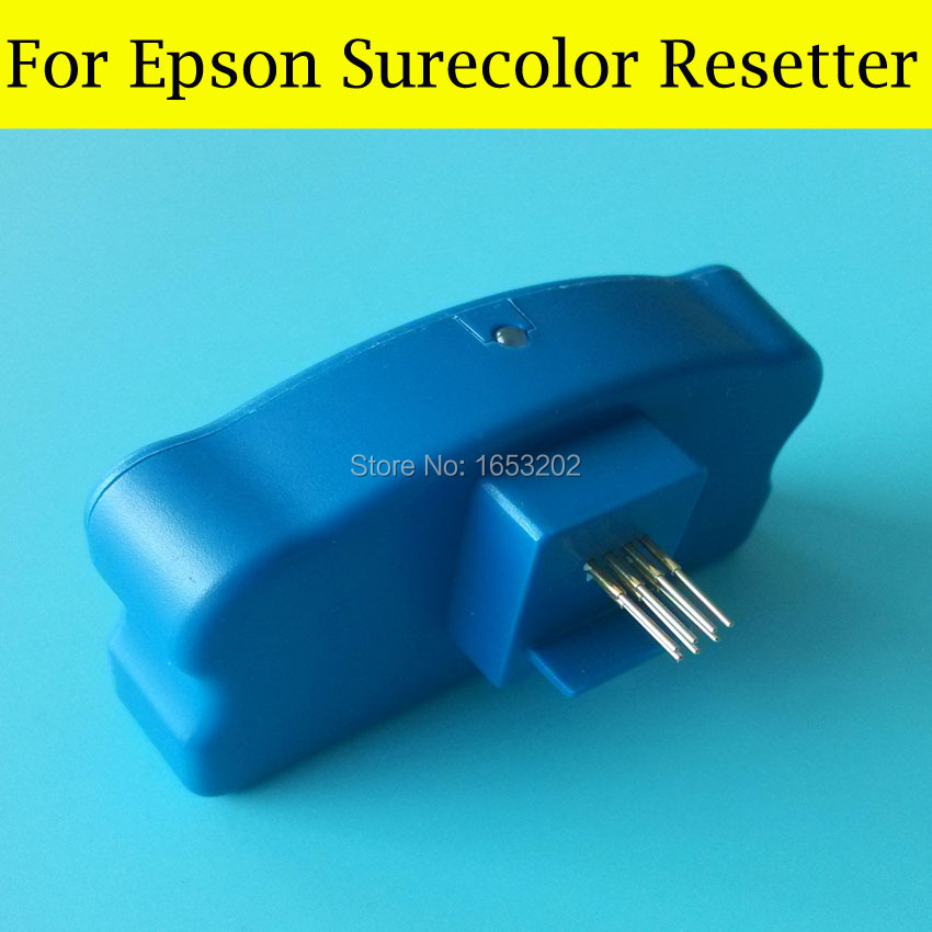 1 PC Waste Ink Tank Chip Resetter For Epson Surecolor T3070 T7070 T3080 T5080 T7080 T3080PS T5080PS T3050 Maintenance Box vilaxh for epson p600 chip resetter for epson surecolor sc p600 printer t7601 t7609 cartridge resetter
