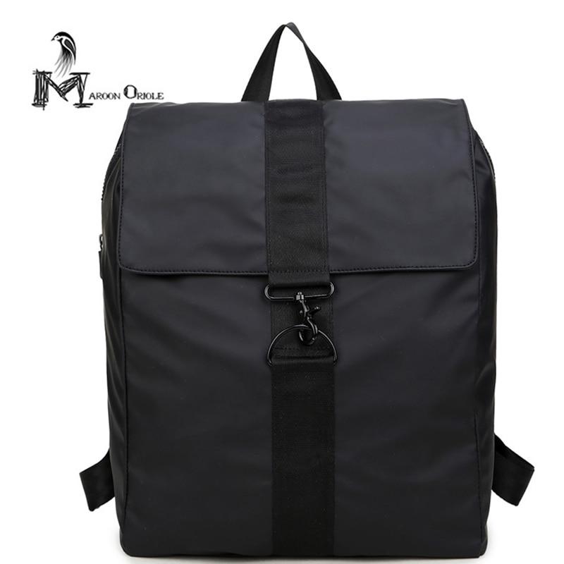 Large travel backpack nylon back pack women school bag fashion softback college school book bag