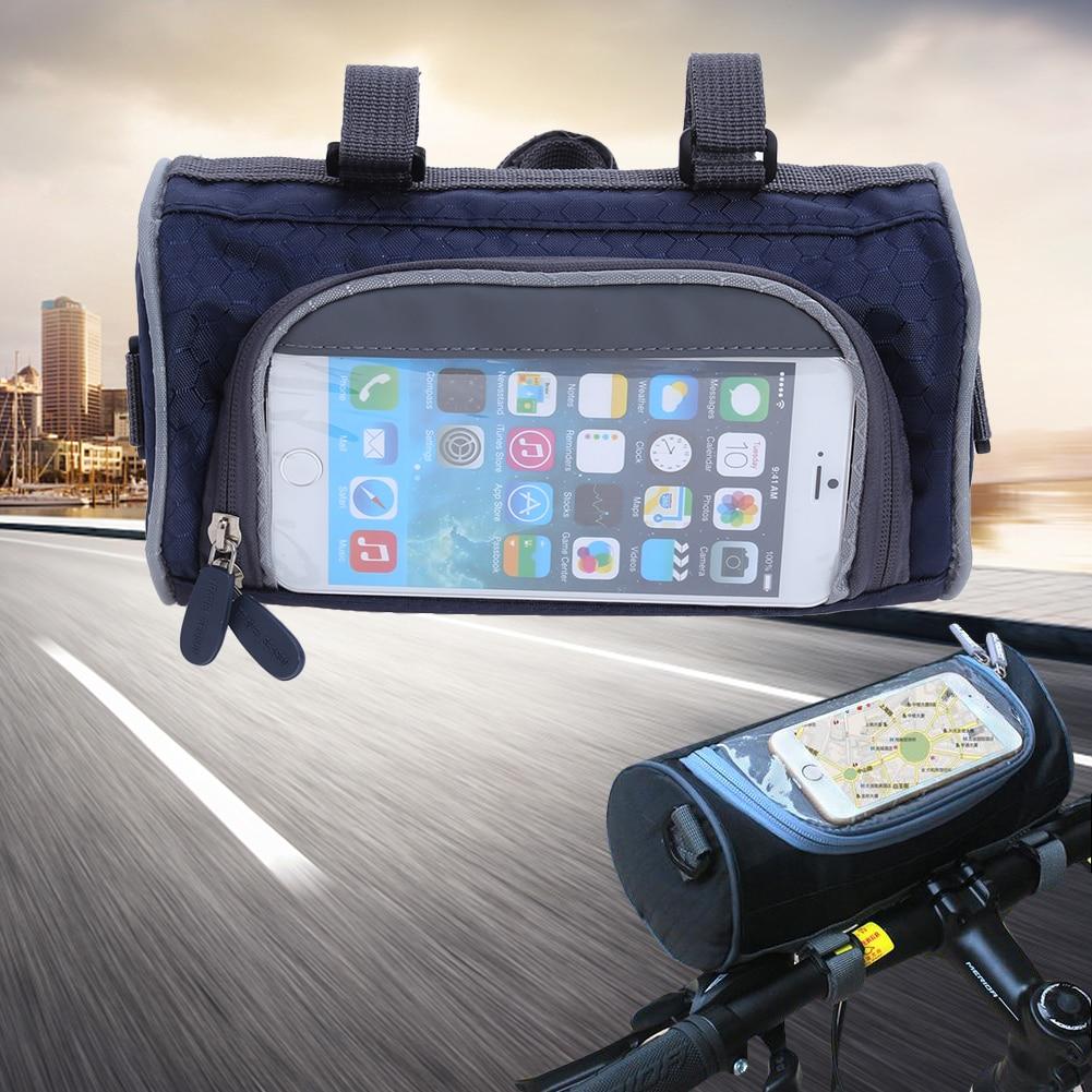 21*12*12cm Mini Waterproof MTB Bicycle Bags Touch Screen Bike Top Tube Front Bags <font><b>Phone</b></font> Case Cycling Pannier Bike <font><b>Accesories</b></font>