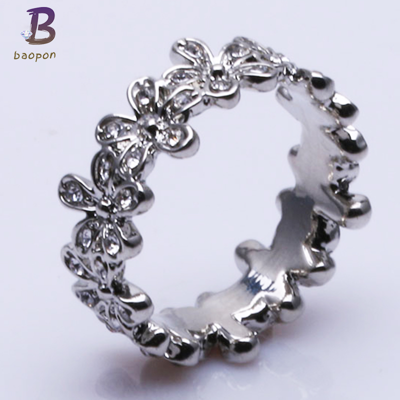 6bd8791fb ... BAOPON Wedding Rings for Women Girls Charms pandora Ring Female Cool  Jewelry Anillos Anel Sale Bijoux ...