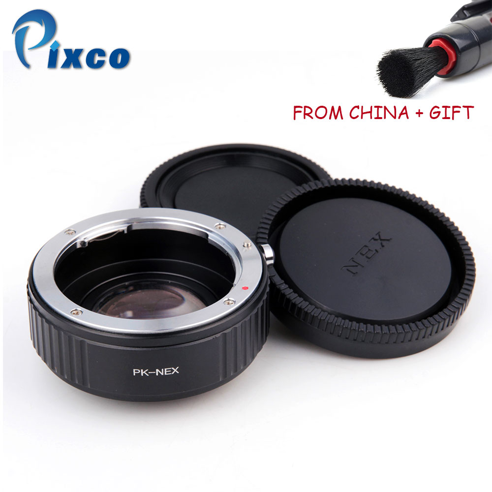 ADPLO 010779 Para PK-NEX Focal Reducer Speed Booster, Traje - Cámara y foto - foto 1