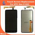 Ll trader preto substituição lcd para htc one x s720e G23 LCD Screen Display Com Tela de Toque Digitador Assembléia + kits de ferramentas