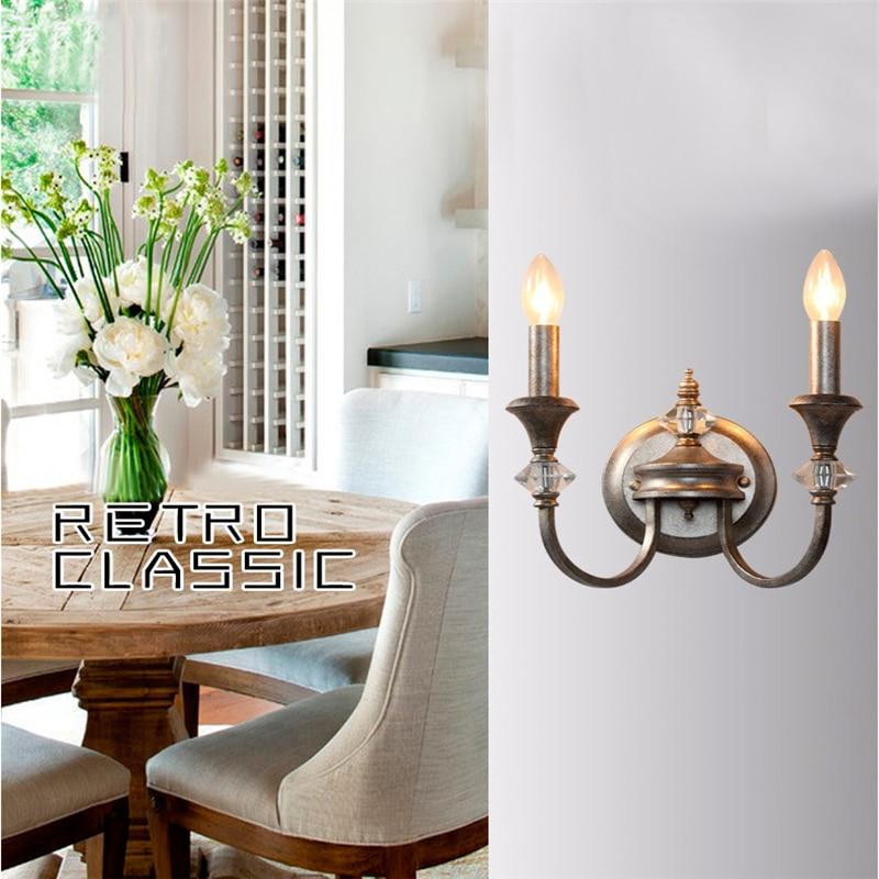 K9 Kristalne svjetiljke od kovanog željeza, svijetleće zidne - Unutarnja rasvjeta - Foto 1