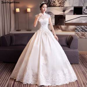 3bc4a1a35a5 top 10 largest wedding gown soft satin flower list