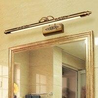 Костюмы магазине зеркало светодиодные лампы ванная комната, зеркало, лампа для ванной туалет Кабинета туалете настенный светильник спальн
