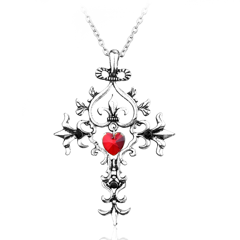 Free shipping Movie Jewelry The vampire diaries necklace