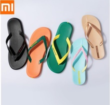 Xiaomi Hotmarzz/модные Вьетнамки для пар; экологически чистый материал ПВХ; мягкая и удобная Нескользящая одежда