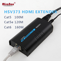 Good price hdmi extender cat6 high quality original factory support 1080p 120m point to point extending hdmi extender cat6