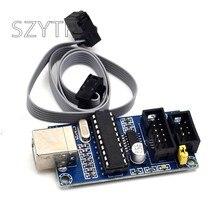 Usbtiny usbtinyisp avr isp programador bootloader para arduino uno r3 meag2560 com cabo de programação 10pin