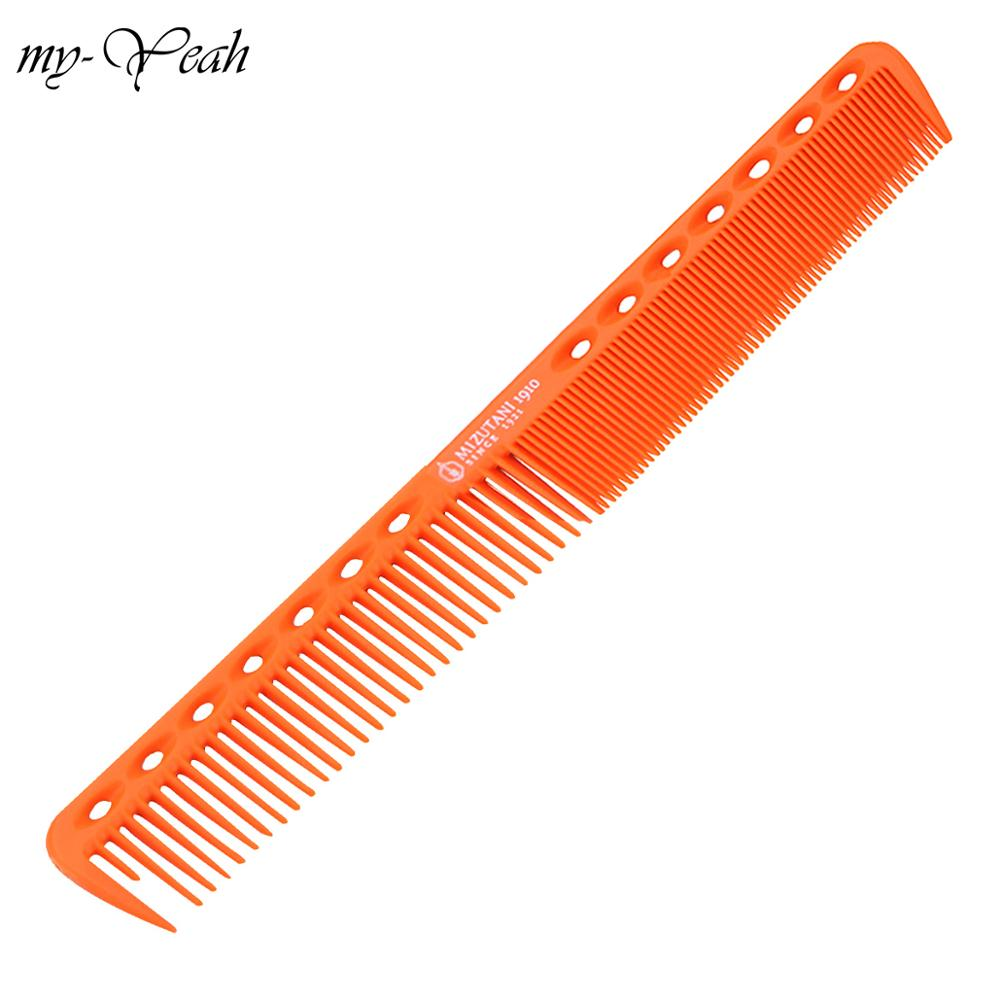 1Pc Professional Salon Hair Comb Anti-static Straighten Detangle Barber Width Fine Teeth Hairbrush Care Styling Tool