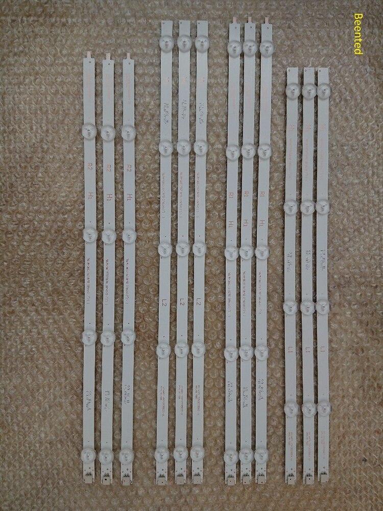 5set=60pcs LED Backlight Strip Replacement For LG 47LN TV LC470DUE 6916L-1174A 6916L-1175A 1176A 1177A 1259A 1260A 1261A 1262A