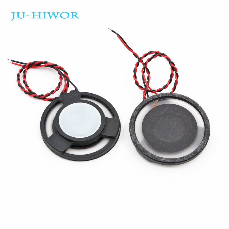 10pcs 4r 3w 36mm Round Speaker Thickness 6.5mm Complex Film Bass Loud Speaker For High-end Toys E-book Acoustic Components Passive Components