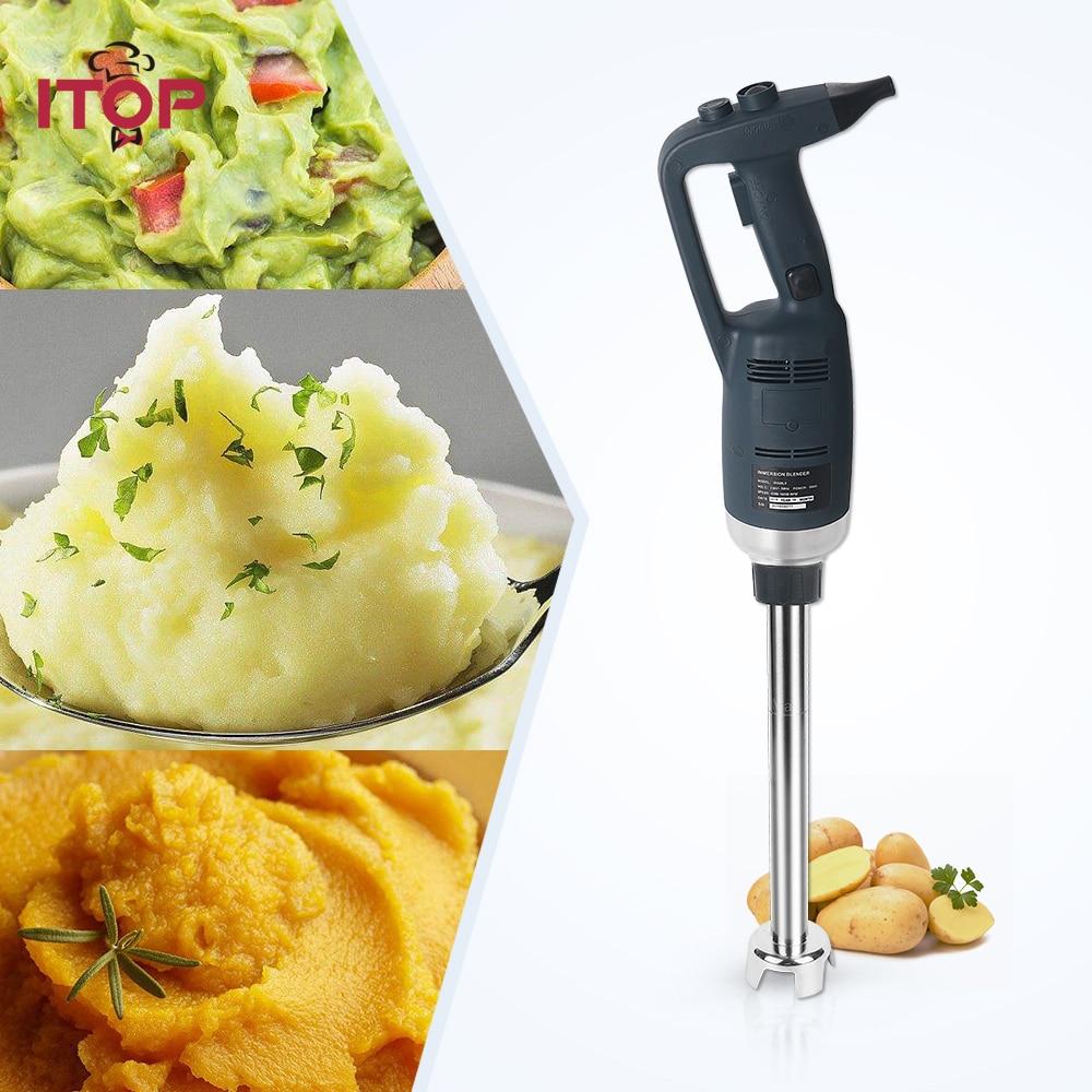 ITOP Hand Held Liquidificador de Imersão Comercial Misturador Máquina de Suco de Fruta máquina de Fazer Gelo Smoothies Liquidificador Pesados 110 v 220 v