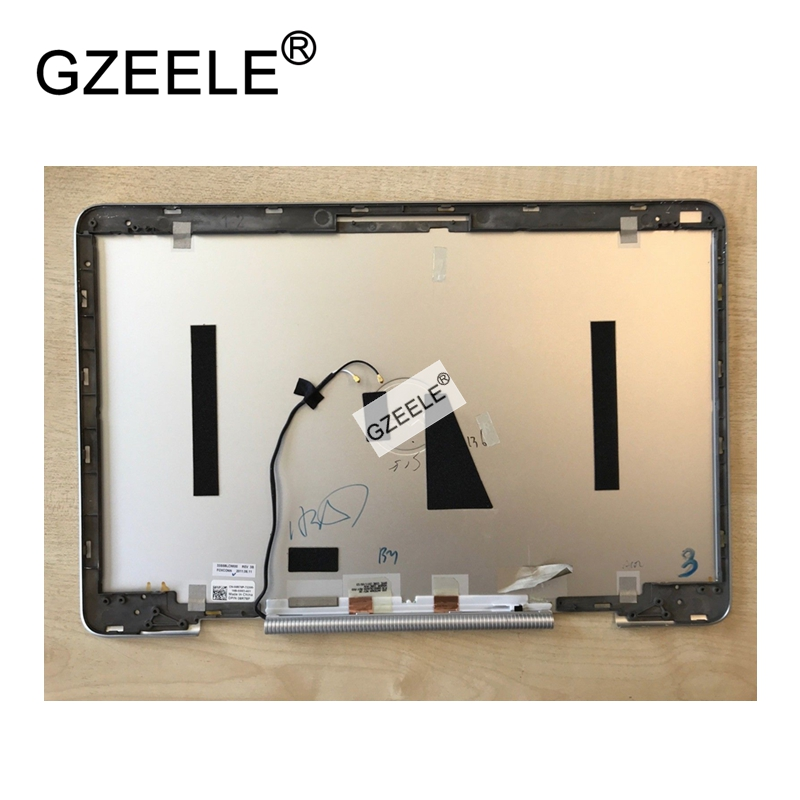 GZEELE new FOR Dell XPS 15Z L511Z 15.6 inch LCD Screen Back Cover Rear Lid Case 08R78P 0XRCWG LCD top cover silver gzeele new for dell for vostro 3360 v3360 p32g lcd back cover top rear lcd lid cover case silver 00nxwd