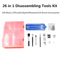 26 in 1 Disassembling Tools Kit Set Drone Repair Parts With Storage Case For DJI Mavic Series/Spark/Phantom3/4 Drone Accessories