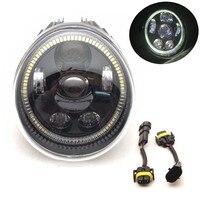 Motorcycle V Rod Daymaker Hi Low LED Headlight for Harley V rod VROD VRSC VRSCA VRSCF With Full Halo Ring New