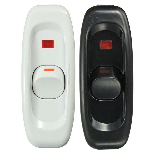 Полезная настольная лампа 1 шт. прикроватная лампа AC 250 V 10A Встроенный ВКЛ/ВЫКЛ Настольный шнур лампы кабельный переключатель с светодиодный световой индикатор