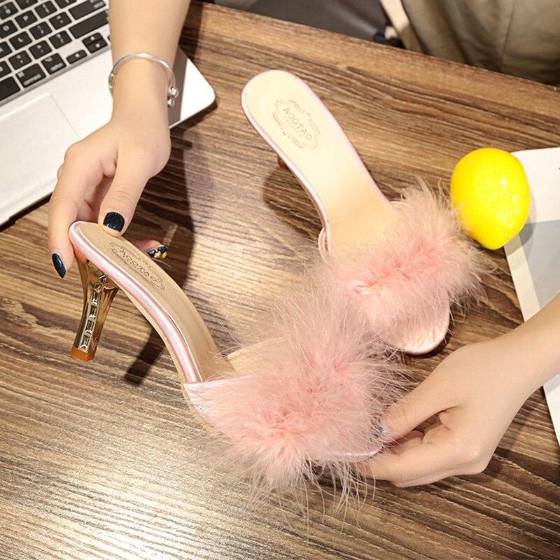 gray Sandalsc15 Nuevas Off en Dedo Zapatos Vestido Talón Cómodo Sandalsc15 Sandalias Señoras Piel De 2019 Del Mujeres Boda Dulce Alta pink black White Fiesta Elegante Las Sandalsc15 Pie Sandalsc15 48qwnR5B