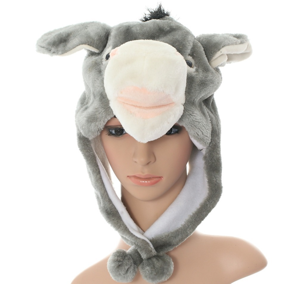 Your Adult animal plush hat pattern opinion